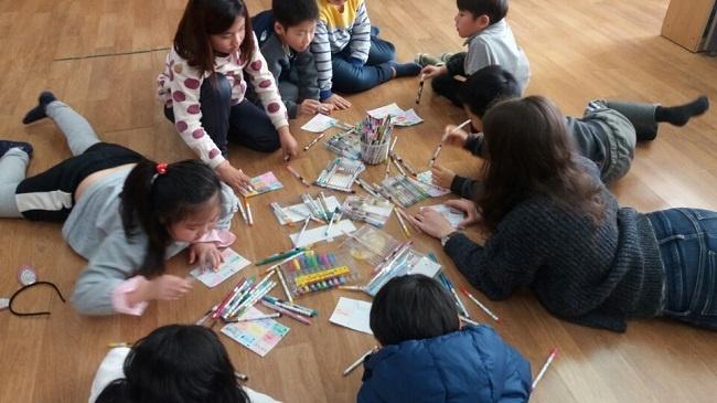 ESL Classroom in Asia Korea