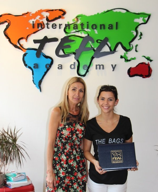 TEFL Certification for teaching English in Spain - testimonial