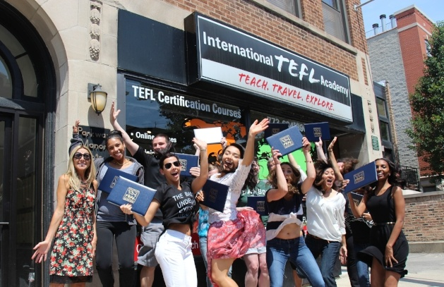 TEFL Certification classes in Chicago for teaching English Abroad