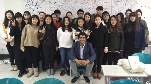 Jobs teaching English at Universities in China