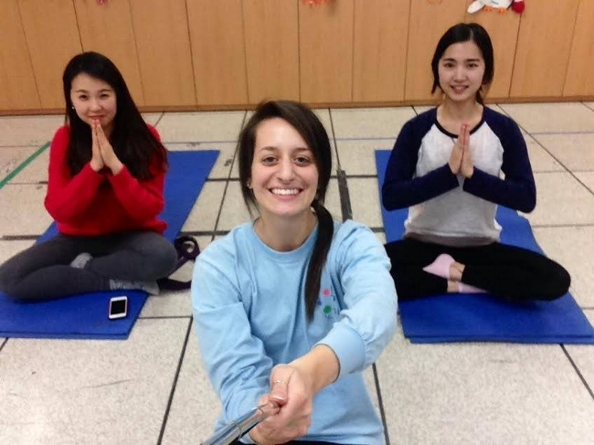 Teaching Yoga and English Abroad
