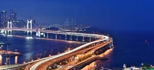 Busan Gwangan Bridge South Korea
