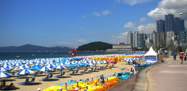Haeundae Beach, Busan South Korea
