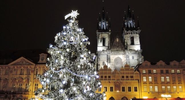 Christmas celebrations in Prague, Czech Republic