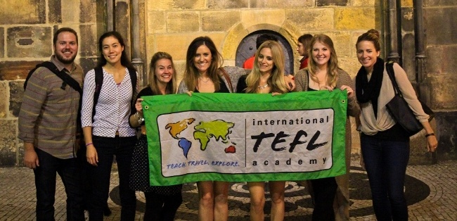 teach english abroad in Prague