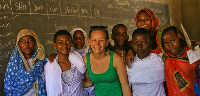 teach english abroad in africa