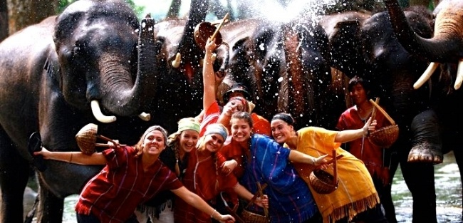 Celebrate the Songkran Festival in Thailand