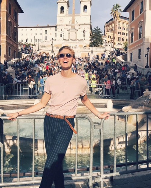 Alexander Willyums - Rome, Italy - Spanish Steps-1