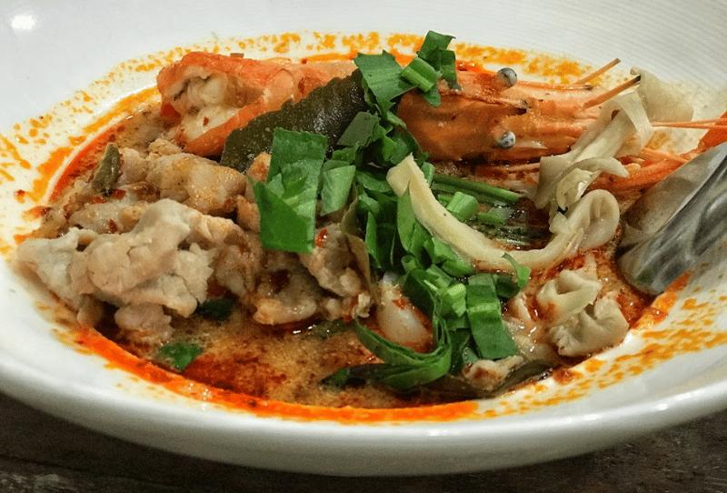 Thai food while teaching English overseas
