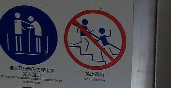 China Translation Signs