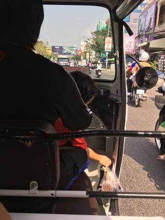 How to get around Phnom Penh when teaching English