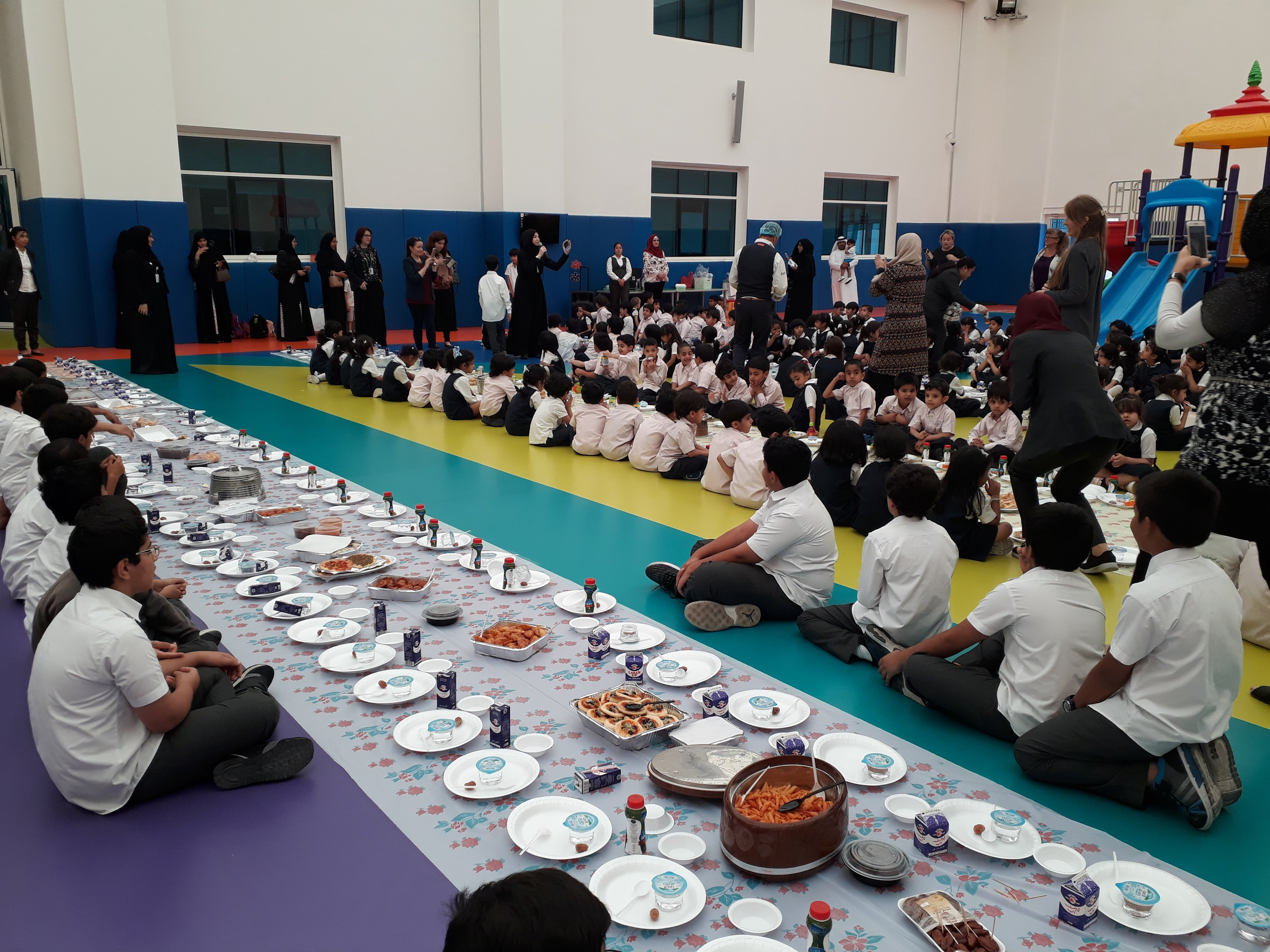 Students Iftar after Ramadan