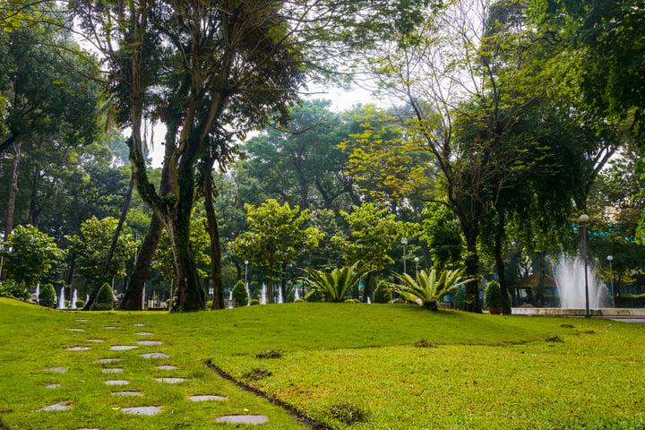 Ho Chi Minh City, Vietnam - Tao Dan Park