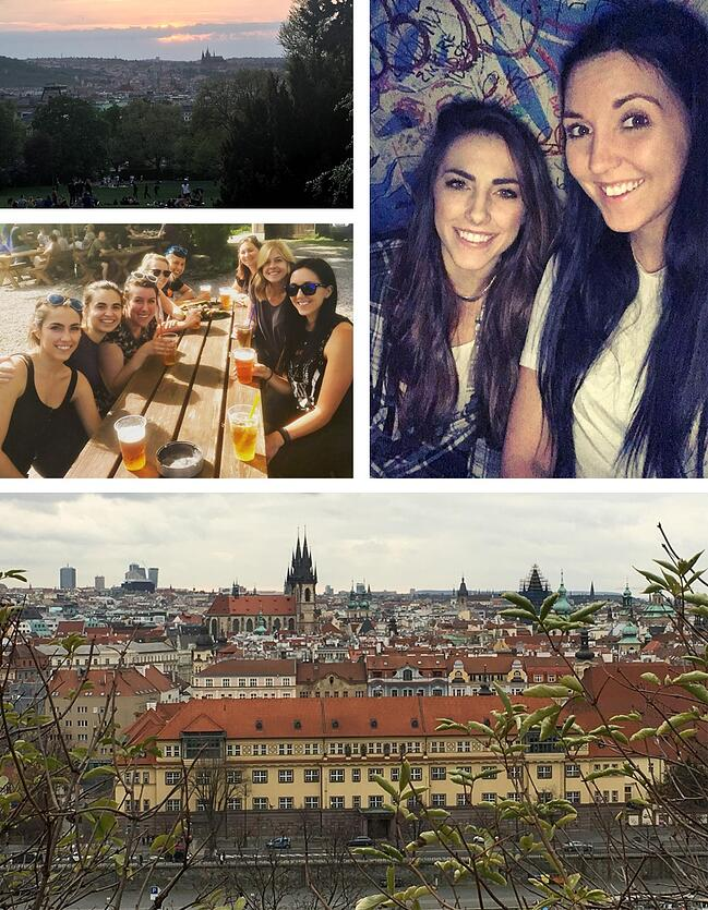 Ambassador - Megan Newnham - Prague - Czech Republic - Beer Gardens