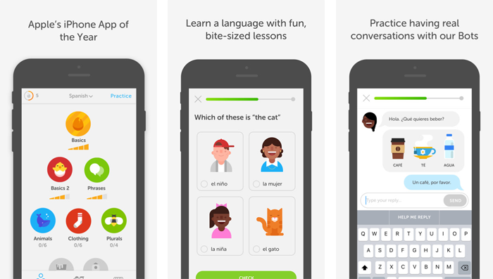 Best Apps To Use While Teaching English in Spain - Duolingo