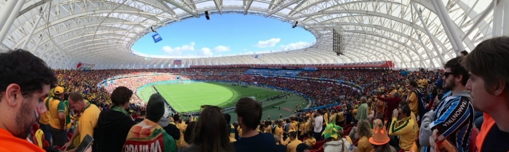 Enjoying the World's Game