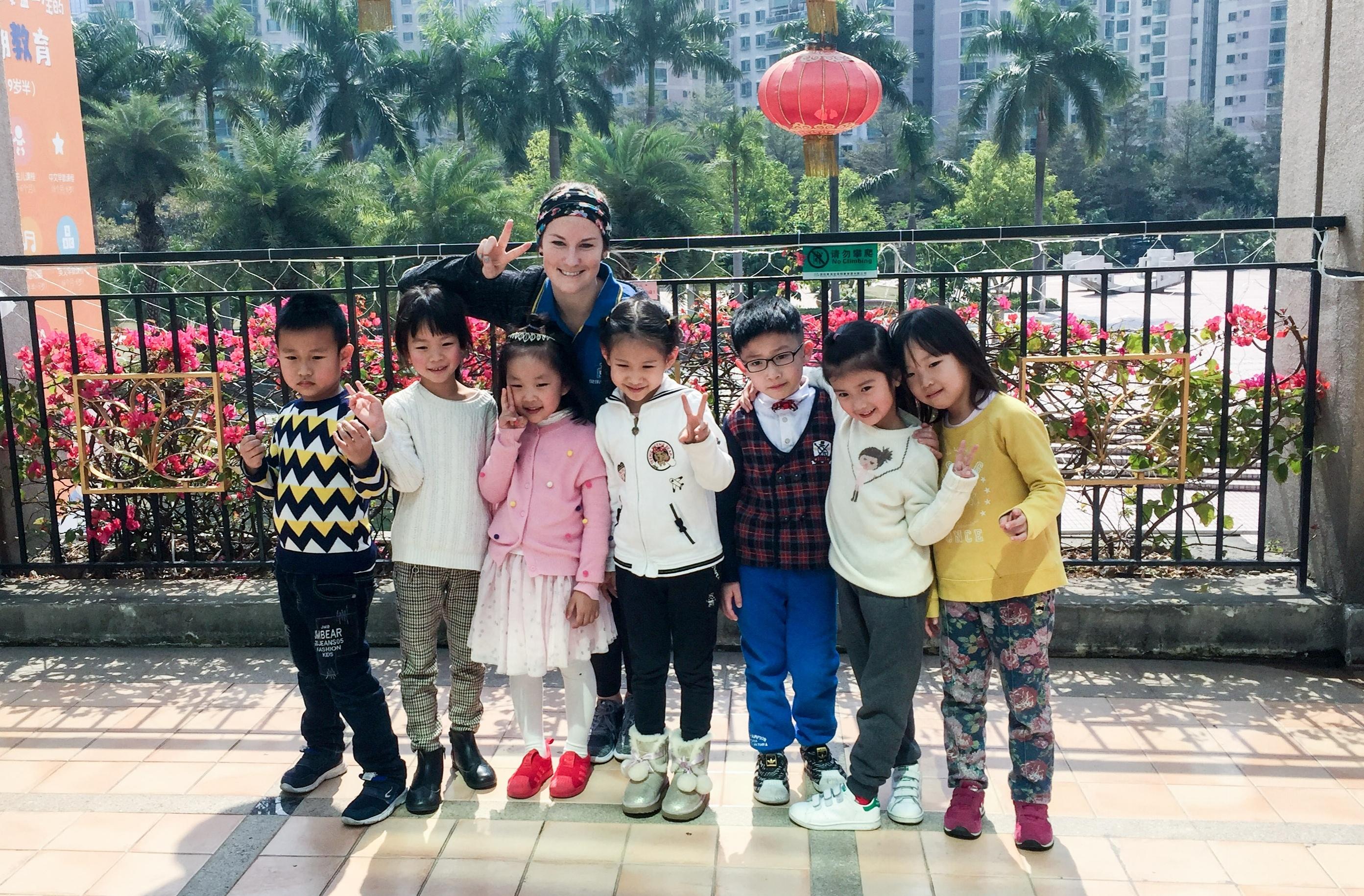 ESL teaching in Shenzhen, China