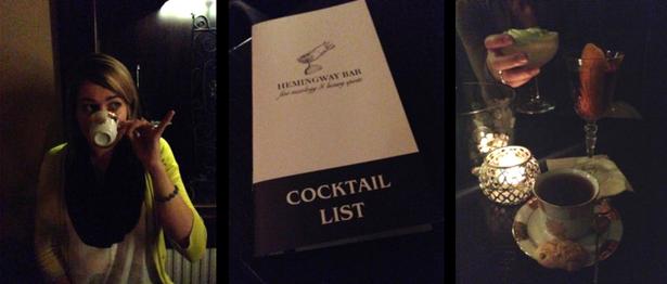 Hemingway Bar, Prague Czech Republic