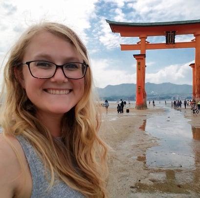ITA Ambassador - Charlotte Cathey - Kyoto, Japan