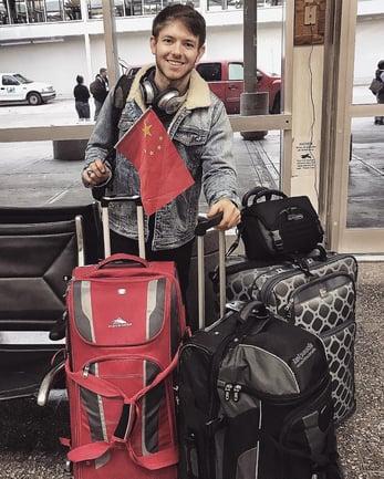 ITA alumus Chris Duck departing Tulsa to teach English in China
