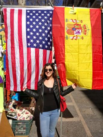 Christina Bates - Madrid, Spain - Flags