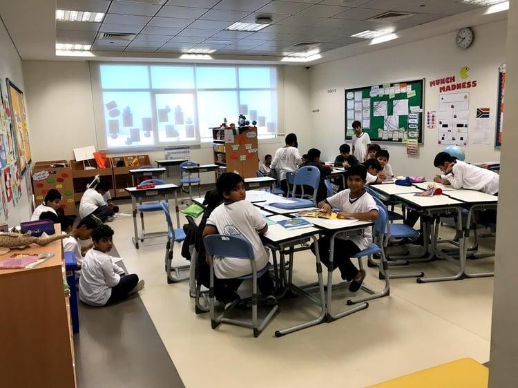 My Classroom in Ras al Khaimah, UAE
