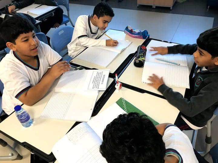 Classroom - Students - Ras al Khaimai - UAE - Middle East - Katie Ayers