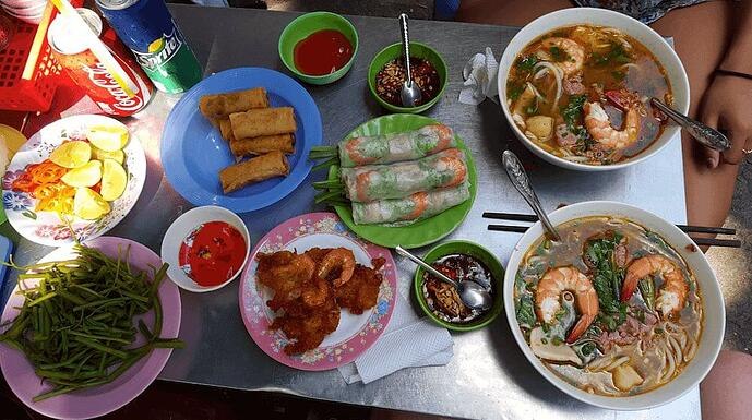 Top Tips for eating out in Ho Chi Minh City Vietnam