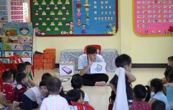 TEFL Classroom in Chiang Mai, Thailand