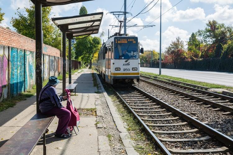 Get around Bucharest via train