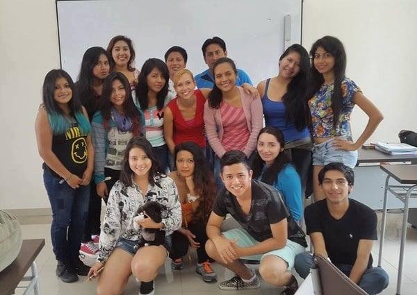 how to get a visa for teaching English in Ecuador