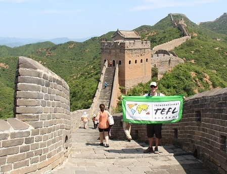 Explore Great Wall Of China While Teaching English Abroad