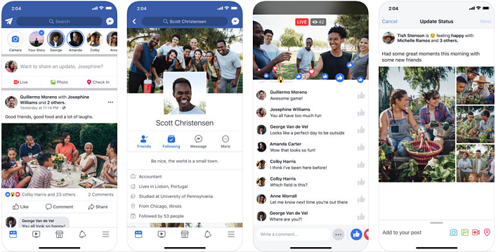 Facebook is extremely popular in Cambodia for cummincation