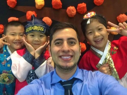 Teaching English in Seoul, South Korea - George Gutierrez