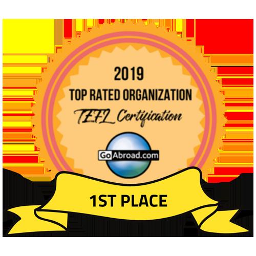 GoAbroad 2019 Winner for Best International Education Organization