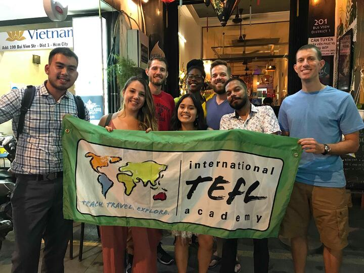 Ho Chi Minh City - Vietnam - ITA Flag - ITA Meetup - Ambassador - Laura Nalin