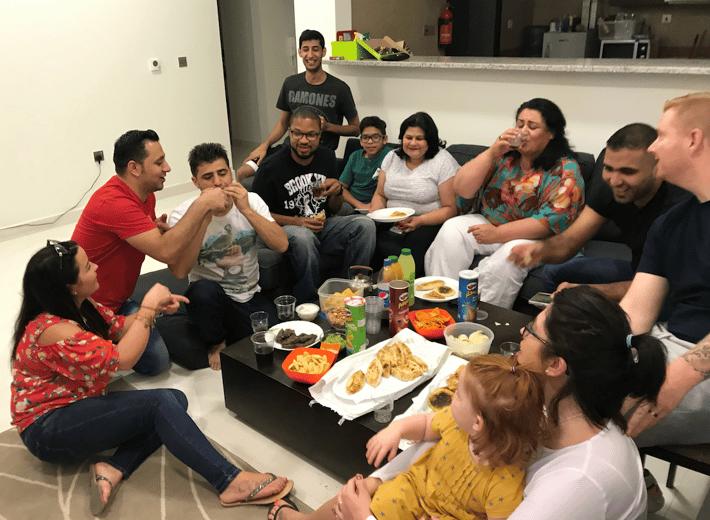 Friends make housing feel more like home in the UAE
