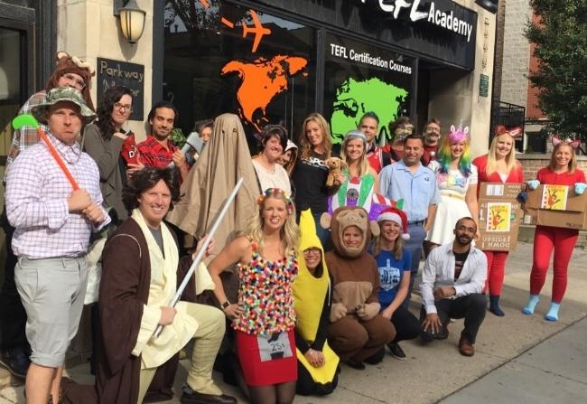 Happy Halloween from International TEFL Academy