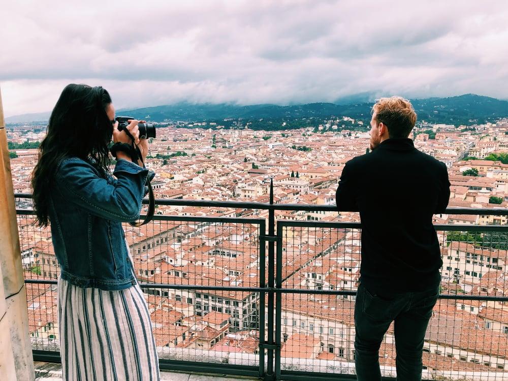 Travel while teaching English online