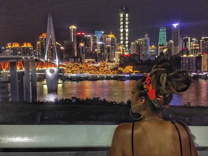 Jessica - Jialing River - China - Asia