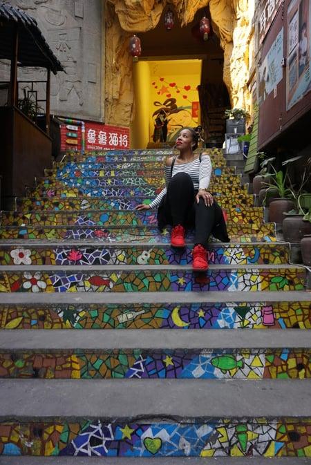Jessica Stanton - Chongqing, China 5