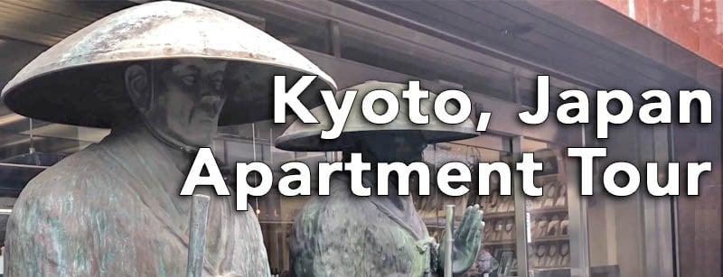 Kyoto Japan Apartment Tour