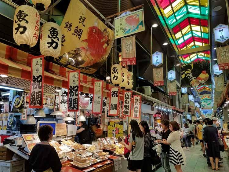 Kyoto Japan market TEFL