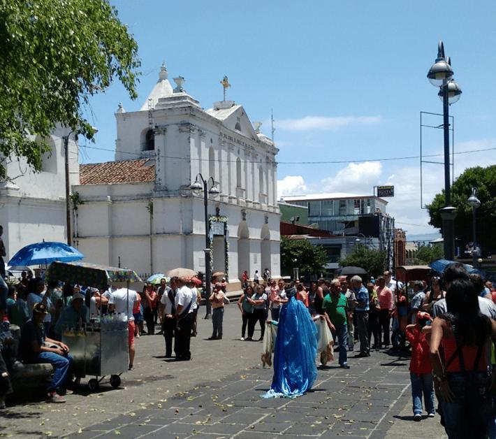 La UNA in Heredia, Costa Rica is a fun, college neighborhood to visit!