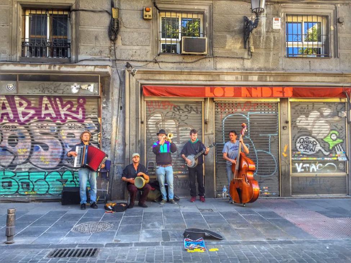La Latina is a fantastic neighborhood in Madrid, Spain
