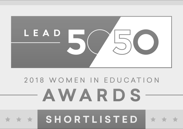 Lead5050 Women in Education Award 2018