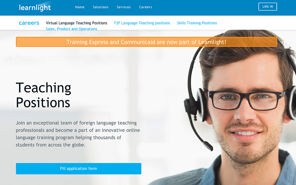 Learnlight Teach English Online Non Native