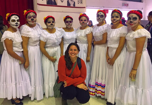 Teaching English in Mexico City, Mexico - Maryclare Flores