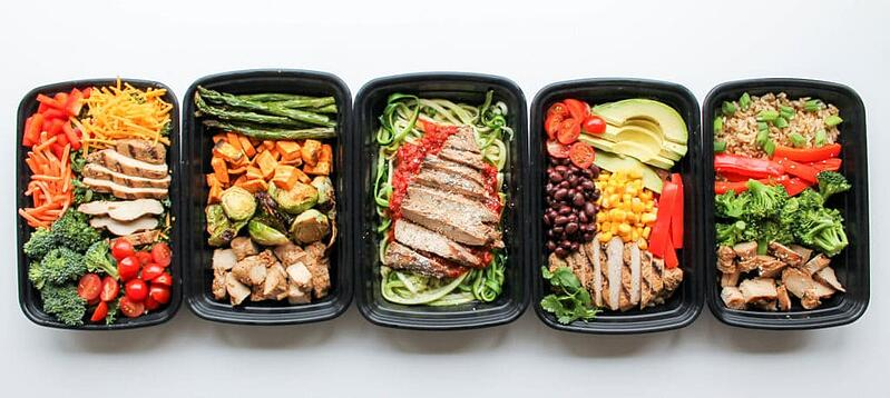 Meal prep to imprive your health while teaching English online at home