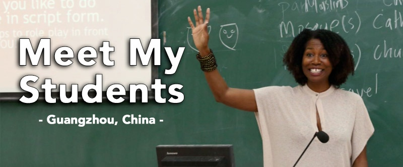 Teach English in China - Meet My Students